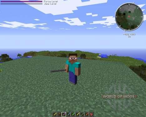 Advanced Lightsaber para Minecraft