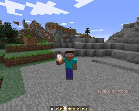 ShinyFood para Minecraft