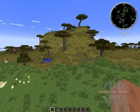 No Cubes (Smooth Terrain) para Minecraft