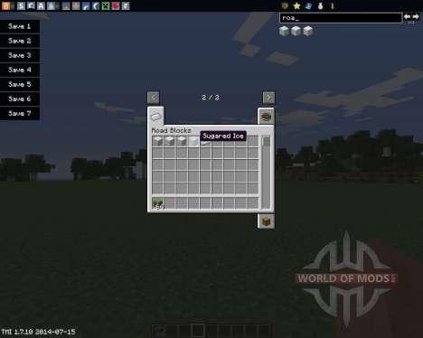 Road Blocks para Minecraft