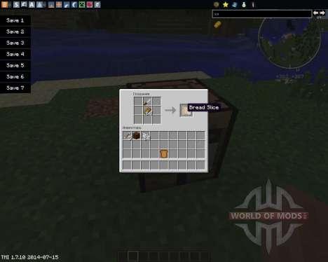 Sliced para Minecraft