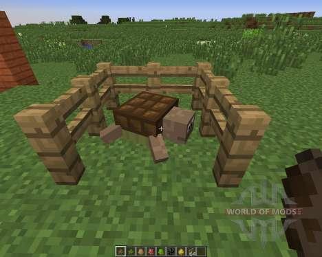 Water Mobs: Aycreature para Minecraft