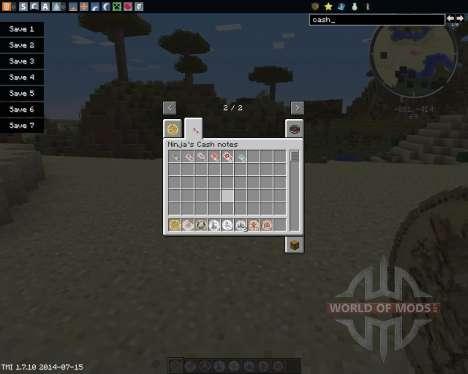 Ninjas Cash para Minecraft