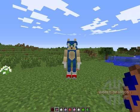 Sonic The Hedgehog para Minecraft