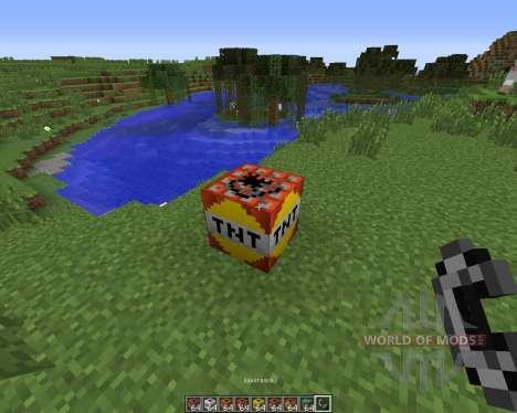 Explosives Plus Plus para Minecraft