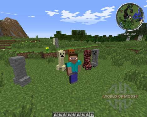 Material Creepers para Minecraft