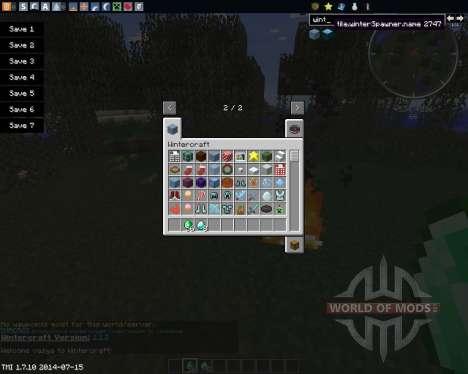 WinterCraft para Minecraft