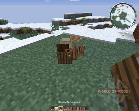 SnapDoors para Minecraft