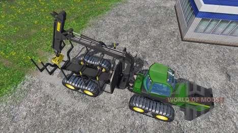John Deere 1510E para Farming Simulator 2015