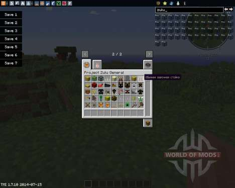 Project Zulu para Minecraft