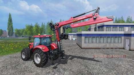 La hidráulica de grúas Epsilon Palfinger M80F para Farming Simulator 2015