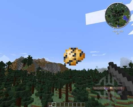 Potato Gun para Minecraft