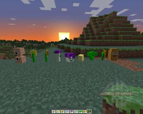 Plants Vs Zombies: Minecraft Warfare para Minecraft