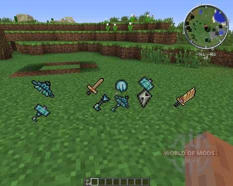 Gods Weapons para Minecraft