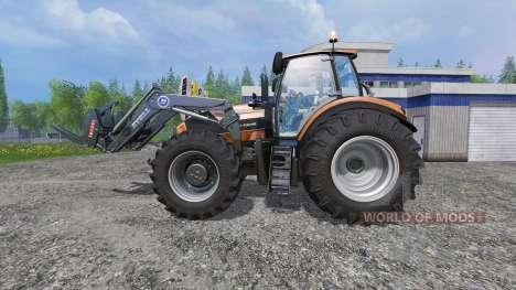 Deutz-Fahr Agrotron 7250 Forest King orange para Farming Simulator 2015