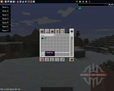 TelePads para Minecraft