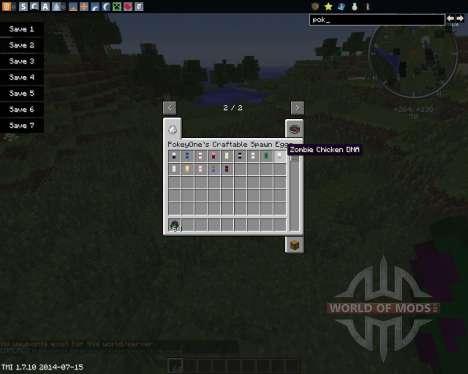 DNA para Minecraft
