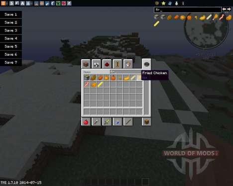Fry The World para Minecraft
