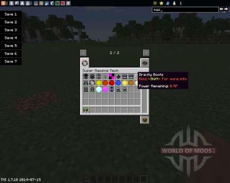 Super Massive Tech (Star Power) para Minecraft