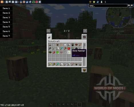 ScoutCraft para Minecraft