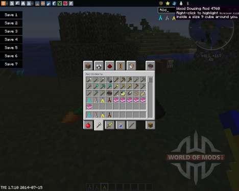 Ore Dowsing para Minecraft