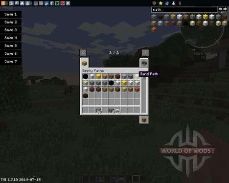 Simply Paths para Minecraft
