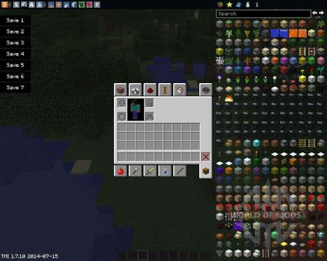 Drop Items Forever para Minecraft
