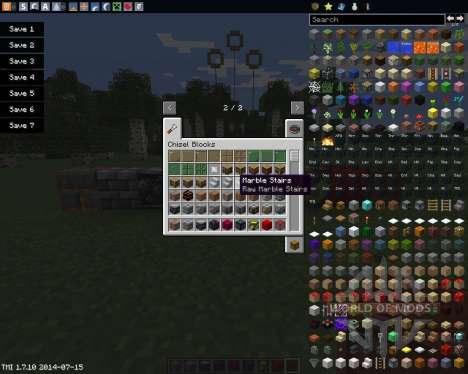 Chisel para Minecraft