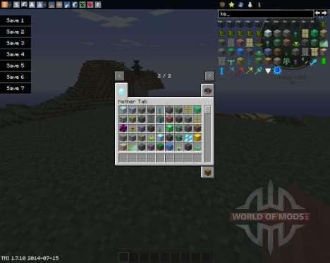 The Real Kether Dimension para Minecraft
