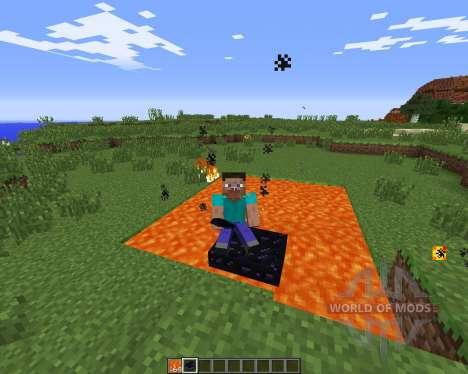 Obsidian Boat para Minecraft