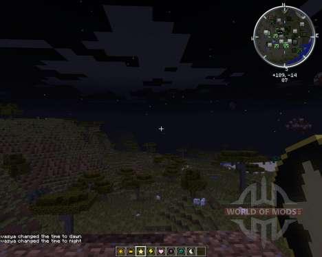 Time & Weather stones para Minecraft