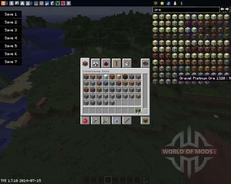 More Metals Than You para Minecraft