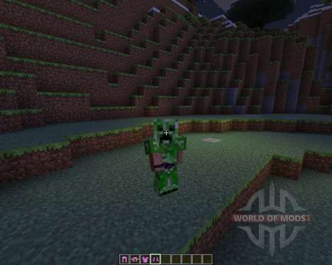 Female Creepers para Minecraft
