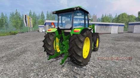 John Deere 6110RC Full para Farming Simulator 2015