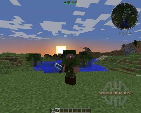 Zelda Sword Skills para Minecraft