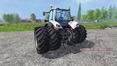 Lamborghini Mach 230 VRT dynamic twin rear wheel para Farming Simulator 2015