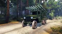ZiS-5 BM-13 para Spin Tires