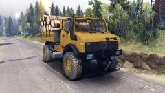 Mercedes-Benz Unimog U1500L para Spin Tires