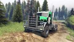 Peterbilt 379 v1.1 green and black para Spin Tires