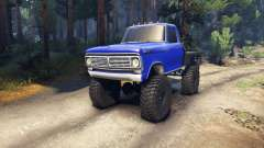 Ford F-100 v1.0 para Spin Tires