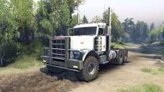 Peterbilt 379 white para Spin Tires