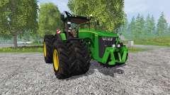 John Deere 8370R v2.0 Ploughing Spec
