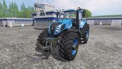 New Holland T8.320 620EVOX blue v1.1 para Farming Simulator 2015