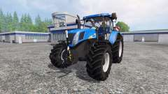 New Holland T7040 v2.0 para Farming Simulator 2015
