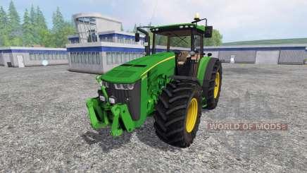 John Deere 8370R v3.0 [Ploughing Spec] para Farming Simulator 2015