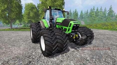 Deutz-Fahr Agrotron 7250 Dynamic8 v1.3 para Farming Simulator 2015