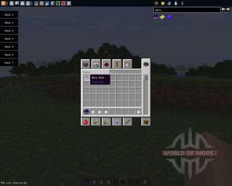 Warp Book [1.7.2] para Minecraft