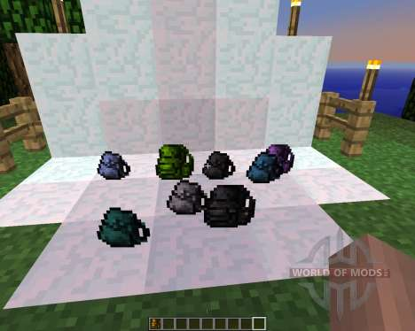 Backpacks [1.5.2] para Minecraft