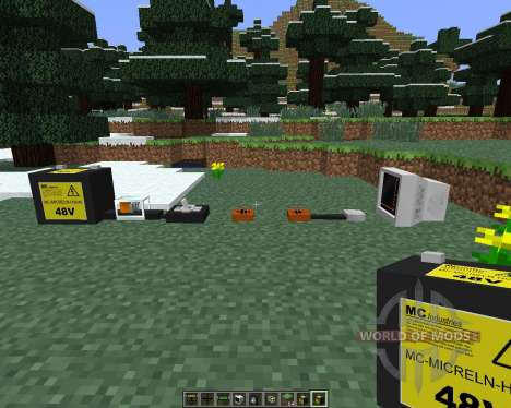 The Electrical Age [1.6.4] para Minecraft