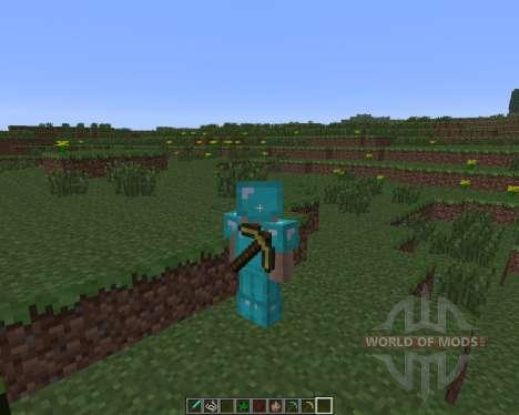 Back Tools [1.6.4] para Minecraft